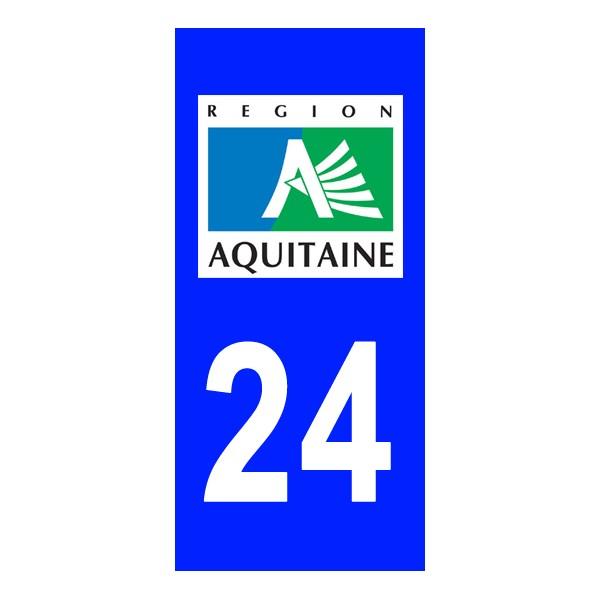 autocollant dordogne 24 plaque immatriculation stickers immatriculation. Black Bedroom Furniture Sets. Home Design Ideas