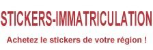 Stickers immatriculation